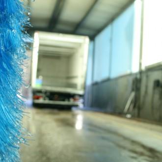 LKW Waschstrasse von Beitzel Express-Logistik