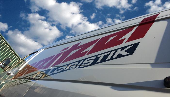 Beitzel Logo auf Fahrzeug